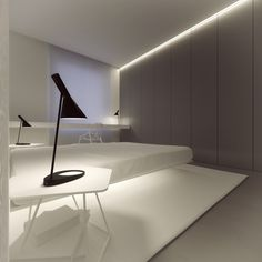 With a narrow desk, this room can serve many purposes.