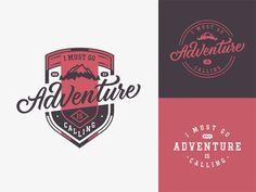 60 Creative Outdoors & Adventure Themed Logo Designs Logo Circulaire, Logo Voyage, Call Logo, Travel Baby Showers, Différents Styles, Badge Logo, Retro Logos, Travel Logo, Badge Design