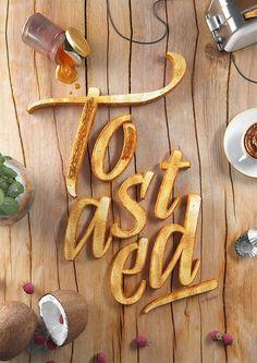 Con la comida y la tipografía sí se juega (Yosfot blog)