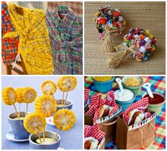 Preparando uma comemoração caipira? Veja as dicas que separamos para uma decoração de festa junina completíssima!