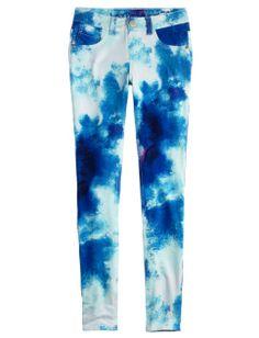 Dye Effect Knit Jeggings | Girls Leggings Clothes | Shop Justice