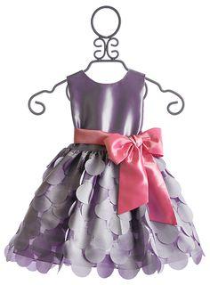 Susanne Lively Lilac Petal Flutter Special Occasion Dress