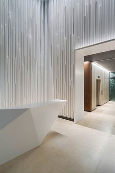Interior design inspirations for your luxury hotel's reception. Check more at luxxu.net