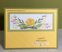 Show and Tell with Michelle: National Stamping Month Blog Hop