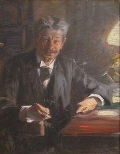 P S Krøyer 1900 - Georg Brandes