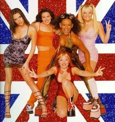 spice girls! girls power! my-childhood
