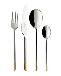Arch 16 pc Set de couverts de qualité en acier inoxydable couteau fourchette dessert /& Tea Spoon