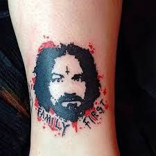 Meaning charles manson tattoo Charles Manson