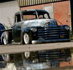 I have a love for the rat rod look..badass