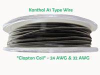 """Kanthal A1 Type Wire - """"Clapton Coil"""" - Single Wrap - 24 AWG Central Wire & 32 AWG Wrap Wire - 13.50€ (iva inc.) Available at AzoresVapes. Online Store: www.azoresvapes.com/ Stores: Praia da Vitória Supermercado Guarita Rua Dr. Gervásio Lima, N7 Angra do Heroismo Supermercado Guarita Terra do Pão São Mateus"""