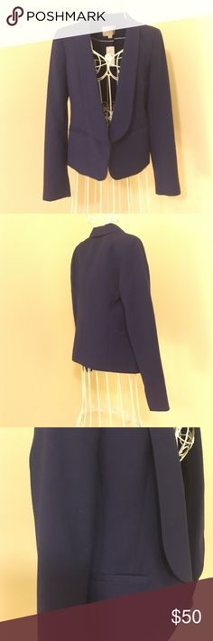 Brand new with tags blue blazer Never worn. New with tags. Perfect condition Ann Taylor Jackets & Coats Blazers