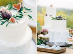 Beautiful modern simplistic wedding cakes