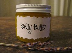 Homemade Belly Butter for Pregnant Ladies :) Sweet Gift