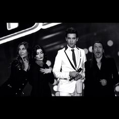 Mika with Florent, Zazie and Jenifer Zazie, Mika, France, The Voice, Interview, Author, People, Passion, Writers
