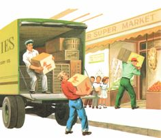 Delivery, 1950s