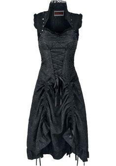 Victorian Dress - Lange jurk van Jawbreaker