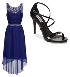 """""""Night Out #59"""" by guitargirlmads on Polyvore featuring Little Mistress and Steve Madden"""
