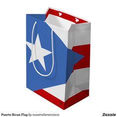 Puerto Rican Flag Medium Gift Bag
