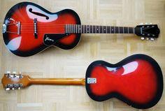 """Wunderschöne Framus """"Studio"""" 5/51 Jazz-Gitarre von 1969"""