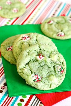 Buttermint Drop Cookies~ Great holiday treat.