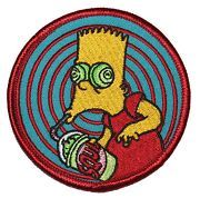 Bootleg Bart. Squishee Patch