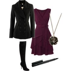cute outfit but I wouldnt wear the boots with that dress I would prob wear gold pumps or nude pumps