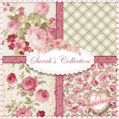 Elm Creek Quilts - Sarah's Collection by Jennifer Chiaverini for Red Rooster Fabrics