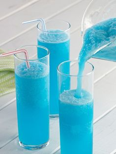 This slushy drink is a fun and tasty way to jazz up your summertime refreshments.