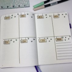 Plan With Me - Bullet Journal Set Up for April 2018