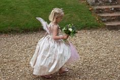Fairy Flower Girls-this is just what i want... but my fiancee wont agree!!!