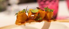 Receta de pollo de corral con pisto y salsa agridulce de pimentón - España Fascinante