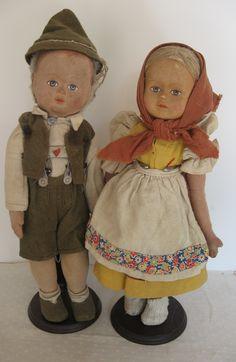Old Stockingnet Dolls