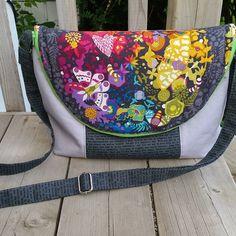 The Manhattan Bag PDF Pattern - Emmaline Bags
