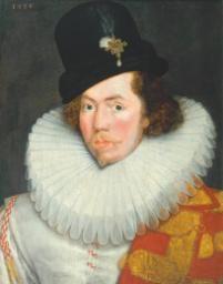 British School 16th century 'Sir Henry Unton', 1586