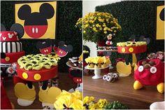 Decoração do Mickey 1