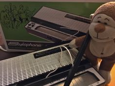 Making music on this far-out instrument today - just like #DavidBowie did on Space Oddity. Ahhh...Wham Bam Thank You #Stylophone!