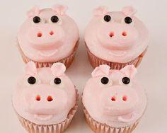 Beki Cook's Cake Blog: Easy Homemade Piggie Cupcakes