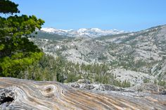 Lake Tahoe Hike - Bay View Hiking Trail. View of Desolation Wilderness from Maggie's Peak