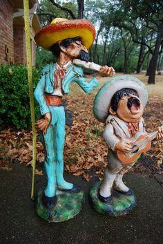 Fab vintage yard art