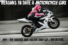 reasons to date a motorcycle girl 9