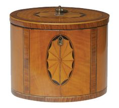 18th century tea caddy