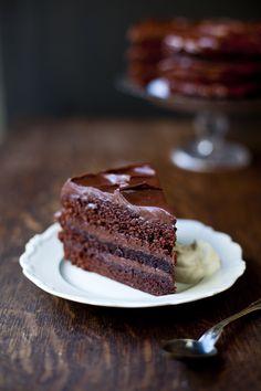 {Swedish Chocolate Dream Cake} I will be dreaming of this cake! :)