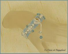 Macrame bracelet , pattern available