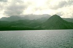 Morne Diablotins is the highest point in Dominica at 4,747 ft (1,447 m) and with a prominence of the same height.