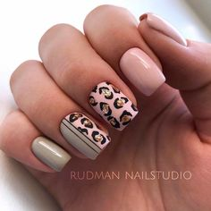 25 Trendy Ideas Of Homecoming Nails To Finish A Lovely Look – Nail Art Love Nails, Pink Nails, Pretty Nails, My Nails, Cheetah Nails, Green Nails, Glitter Nails, French Manicure Gel, French Manicures
