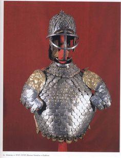 Scaly armor (karacena). The turn of 17-18 centuries. National Museum in Krakow