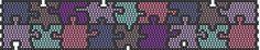 Puzzle karkötő - Peyote az alapoktól 3. - Színes Ötletek Blog