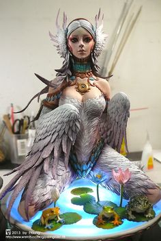 THE SWAN (WHITE EDITION) by pkking1288.deviantart.com on @deviantART
