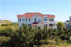 Sweet Dreams Outer Banks Rentals | Whalehead Beach - Oceanfront OBX Vacation Rentals Obx Rentals, Vacation Rentals, Outside Showers, Outer Banks Rentals, Outer Banks Vacation, Beautiful Ocean, How To Level Ground, Private Pool, Sweet Dreams