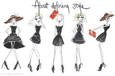 """About defining style: The fashion world uses definitions like """"rock chick"""" or """"bohemian"""" or """"sporty"""" or """"romantic"""" to describe the styles of celebrities, to create fashion editorials, and to tell you how you should define your own style. In short, these labels define pretty much anything related to fashion. You're expected to choose one, maybe two, and stick to them, otherwise the threat of becoming fashion road kill is imminent. But I don't think this is a good idea. (click to read full…"""